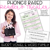 Reader's Theater-Phonics Centers-Short Vowel E-Word Families