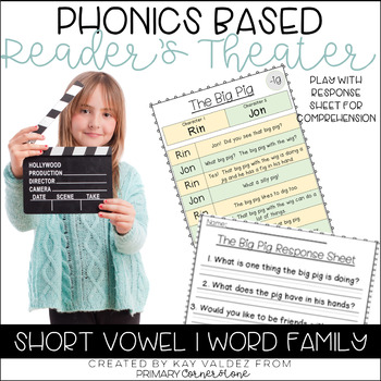 Reader's Theater-Phonics Centers-Short Vowel I-Word Families