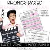 Reader's Theater-Phonics Centers-Short Vowel O-Word Families