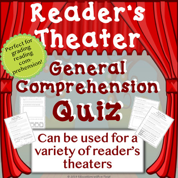 Reader's Theater: Reading Comprehension & Critical Thinking