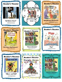 Reader's Theater: Robert Munsch HUGE 10-Book Bundle