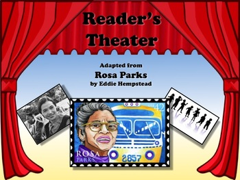Reader's Theater Rosa Parks - Great for Civil Rights and B