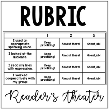 Reader's Theater Rubric