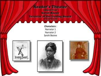 Reader's Theater Sarah Boone: Inventor of the Ironing Board - Black History