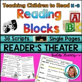 Reader's Theater Scripts for Beginning Readers  Kindergarten