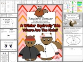 Reader's Theater Script: A Winter Squirrely Tale, FULL OF FUN READING Activities