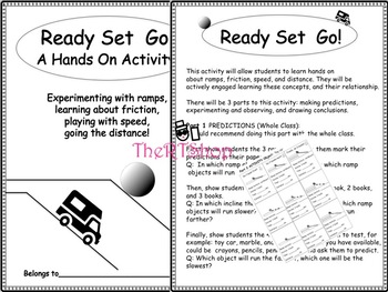 Reader's Theater Script: Force and Motion, Full Pack, Lots of Fun Activities