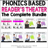 Reader's Theater Script Growing Bundle-Phonics Center-Fluency Practice-Year Long
