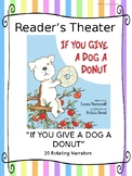 Reader's Theater Script:  If You Give a Dog a Donut by Laura Numeroff