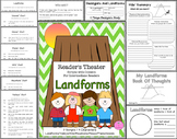 Reader's Theater Script: Landforms, Reading and Science Activities/Centers