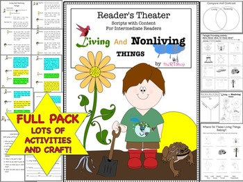 Readers theater script living and nonliving things science activities ccuart Image collections