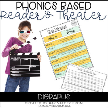 Reader's Theater Script-Phonics Centers-Digraphs-Fluency Practice-