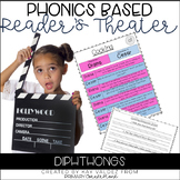 Reader's Theater Script-Phonics Centers-Diphthongs-Fluency Practice-