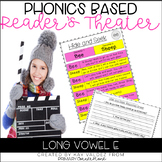 Reader's Theater Script-Phonics Centers-Long Vowel E-Fluen