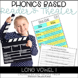 Reader's Theater Script-Phonics Centers-Long Vowel I-Fluen