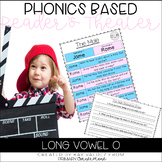 Reader's Theater Script-Phonics Centers-Long Vowel O-Fluen