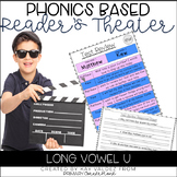 Reader's Theater Script-Phonics Centers-Long Vowel U-Fluen
