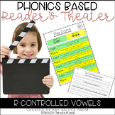 Reader's Theater Script-Phonics Centers-R Control-Fluency Practice-