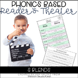 Reader's Theater Script-Phonics Centers-S Blends-Fluency P