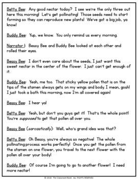 Reader's Theater Script:  Pollination