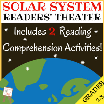 Reader's Theater Script: Solar System (w/Comprehension Activities)