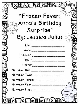 "Reader's Theater Script for ""Frozen Fever: Anna's Birthday Surprise"""