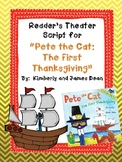 "Reader's Theater Script for ""Pete the Cat: The First Thanksgiving"""