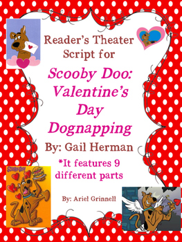 """Reader's Theater Script for """"Scooby Doo: Valentine's Day Dognapping"""""""