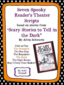 "Reader's Theater Script for Seven ""Scary Stories to Tell in the Dark"""