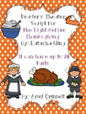 "Reader's Theater Script for ""The Night Before Thanksgiving"""