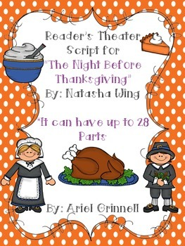"Reader's Theater Script for ""The Night Before Thanksgiving"