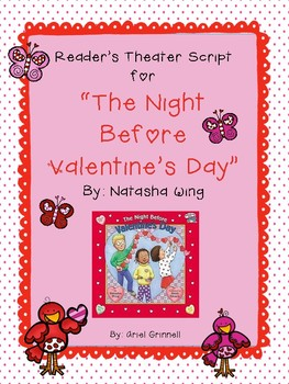"""Reader's Theater Script for """"The Night Before Valentine's Day"""" by Natasta Wing"""