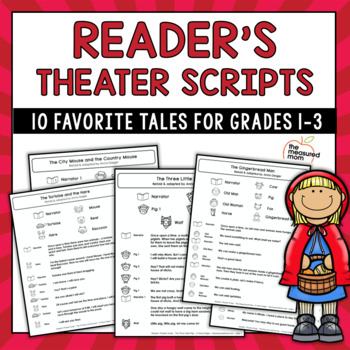 Reader's Theater Scripts - Familiar Tales for Grades 1-3