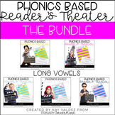 Reader's Theater Scripts-Phonics Centers-Long Vowels Bundle
