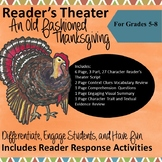 Reader's Theater Scripts for Middle School: An Old Fashioned Thanksgiving