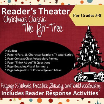 Reader's Theater Scripts for Middle School: Christmas Classic The Fir-Tree