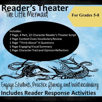 Reader's Theater Scripts for Middle School: The Little Mermaid