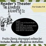 Reader's Theater Scripts for Middle School: The Wonderful Wizard of Oz