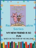 Reader's Theater Series- My New Friend is So Fun! Elephant and Piggy- Mo Willems