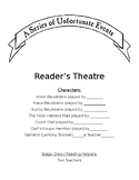 Reader's Theater - Series of Unfortunate Events (editable)
