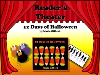 Reader's Theater The 12 DAYS OF HALLOWEEN - Great Fun! Cla