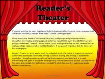 Reader's Theater The 12 DAYS OF HALLOWEEN - Great Fun! Class will LOVE it!