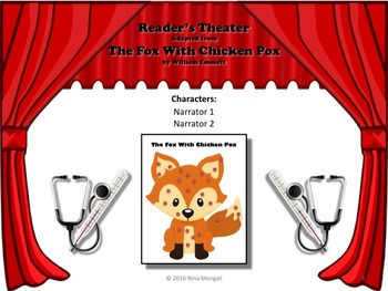 Reader's Theater - THE FOX WITH CHICKEN POX - Includes Some Rhyming Text!
