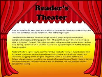 Reader's Theater THE HEADLESS TEACHER: A Halloween Story! Great Fun!