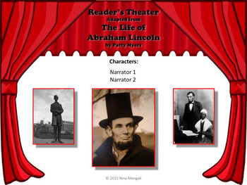 Reader's Theater THE LIFE OF ABRAHAM LINCOLN - Great for President's Day!