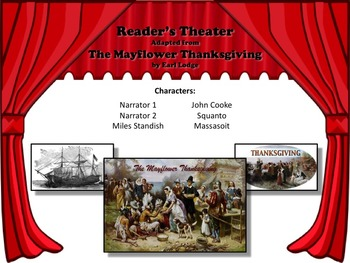 Reader's Theater THE MAYFLOWER THANKSGIVING - Great Historical Fiction!