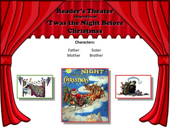 Reader's Theater 'TWAS THE NIGHT BEFORE CHRISTMAS - GREAT FUN!
