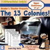 Reader's Theater: The 13 Colonies (3 differentiated scripts + activities!)