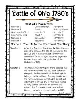 Reader's Theater: The Battle over Ohio (Northwest Territory)