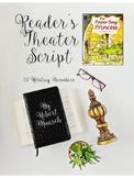 Reader's Theater:  The Paper Bag Princess by Robert Munsch